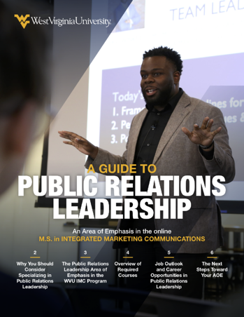 a guide to specializing in public relations management