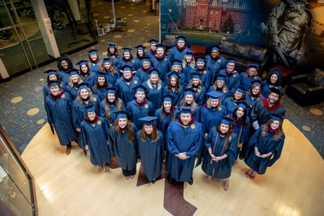 Camaraderie of Online Students Shines at IMC and DMC Graduation